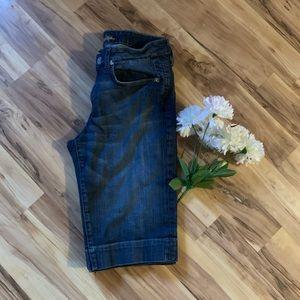 Kut from the Kloth Bermuda Jean shorts size 12